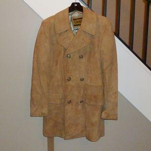 Vintage 70's Suede Jacket EUC sz 40